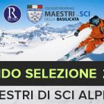 SELEZIONE ASPIRANTI MAESTRI DI SCI ALPINO 2020