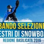 Selezione aspiranti maestri di Snowboard – 2015