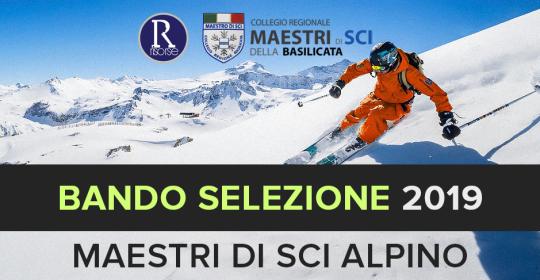SELEZIONE ASPIRANTI MAESTRI DI SCI ALPINO 2019