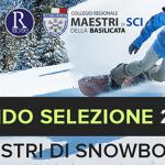 SELEZIONE ASPIRANTI MAESTRI DI SNOWBOARD 2021