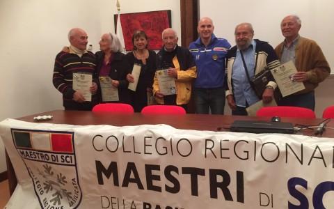 Maestri di vita. Maestri di Sci. Titolo Honoris Causa ai pionieri dello Sci in Basilicata