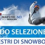 SELEZIONE ASPIRANTI MAESTRI DI SNOWBOARD 2017
